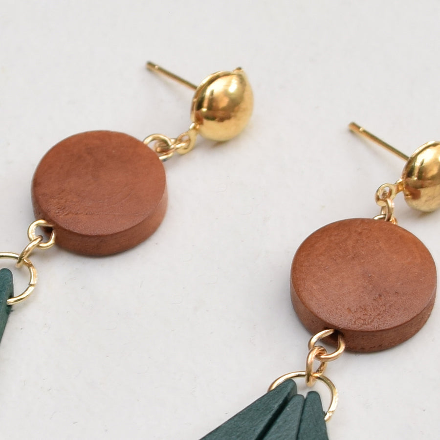 Earrings , VANILLA TOP