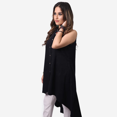 High Low Tunic , VANILLA TOP