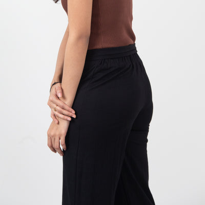 Belted Slim Culottes , VANILLA TOP