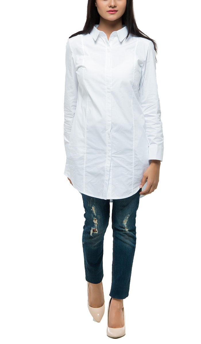 Long Collar Shirt