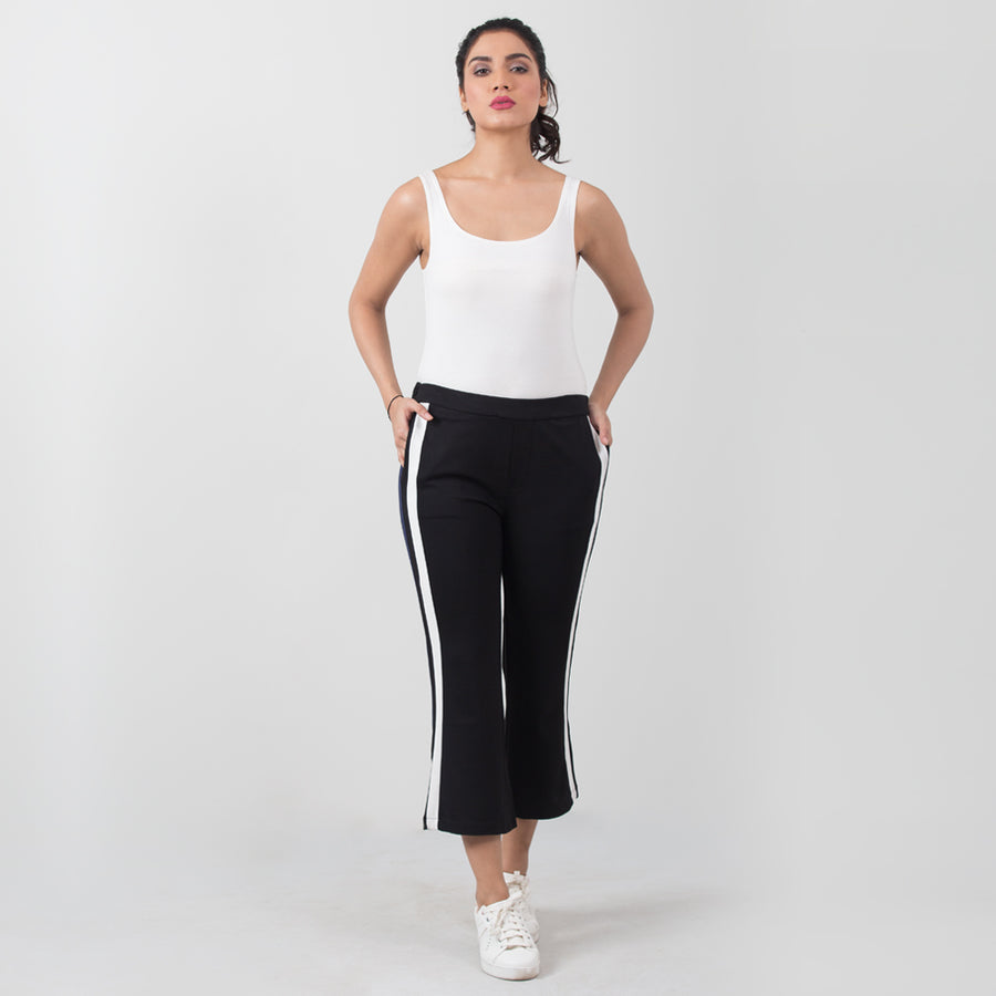 Double Dibs Active Mid Track Pants , VANILLA TOP