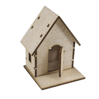 Balsa Wood Mini Houses For Your Craft Projects