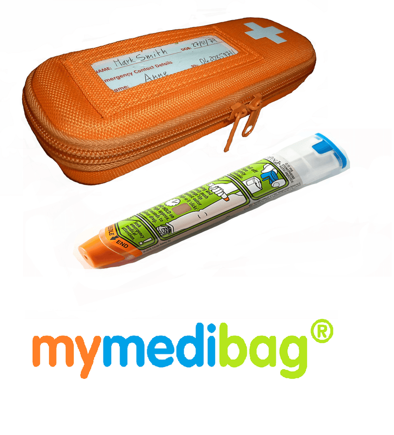 MyMediBag Single Epipen Medication Case