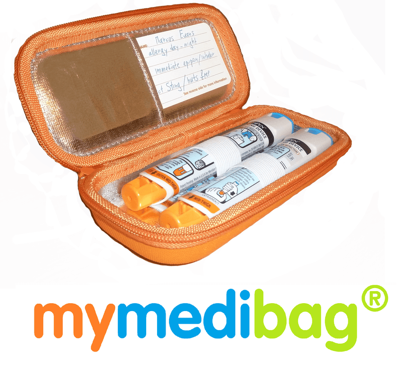 MyMediBag Double Epipen Medication Case