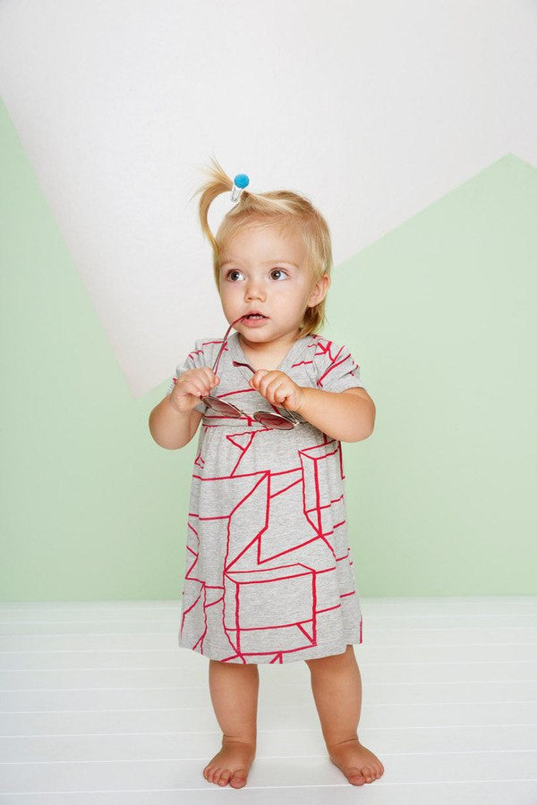 organic cotton toddler dress