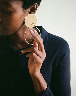 5 biggest earring trends of the year. Coolest Hoop earrings