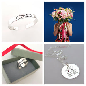 8 personalized jewelry gift ideas for her: how to create a present to treasure