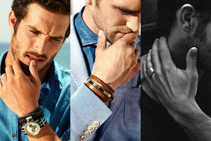 Why is leather jewelry for men so popular?