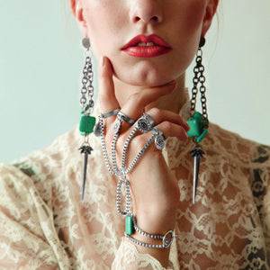10 Jewelry rules we should break more often.<br />Modern fashionable jewelry for women and men
