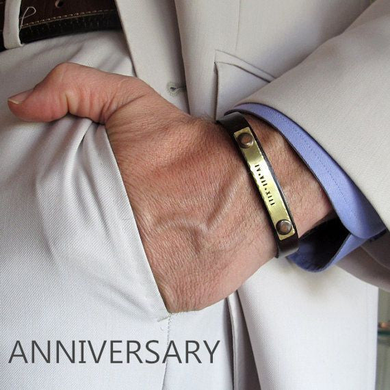 anniversary gifts for men - personalized mens gift ideas
