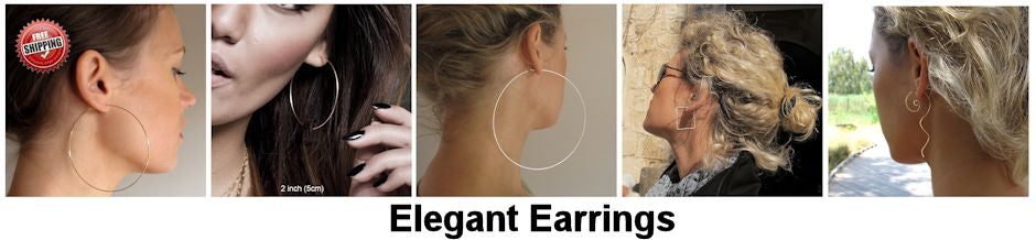 Elegant Earrings - Fashion Earrings - Classic Style Jewelry