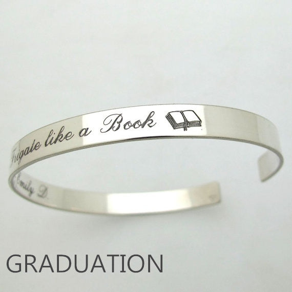 graduation gifts for her and him - personalized graduation jewelry