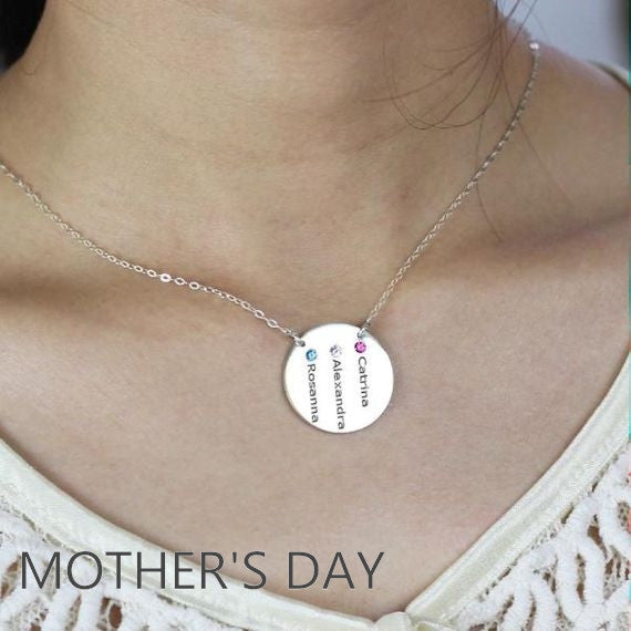 Mothers Day Gift Ideas - Personalized jewelry for her
