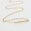Gold Pendant Choker Necklace