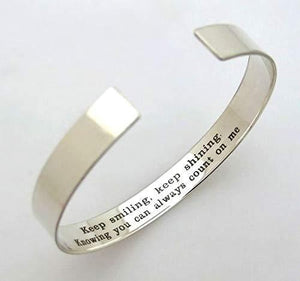 Birthday Friend Gift - Secret Message Bracelet