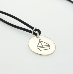 Personalized Leather Necklace - Boyfriend Gift