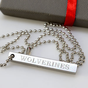 Mens jewelry - Personalized Mens Pendant necklace