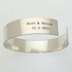 Love Mens Custom Bracelet - Husband Gift