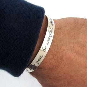 Men's Personalized Bracelet - Fathers day gift