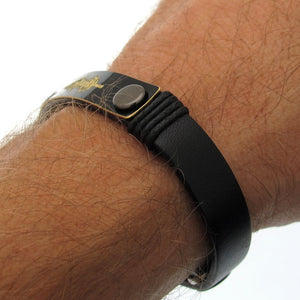 Voice Engraving Mens Bracelet