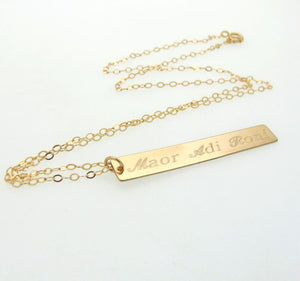 Gold Filled Layering Necklace for Mom