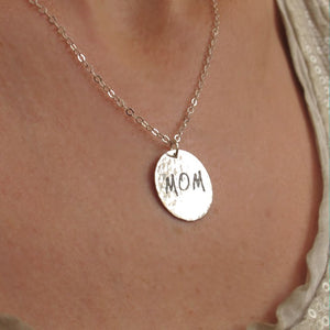 Personalized mom necklace
