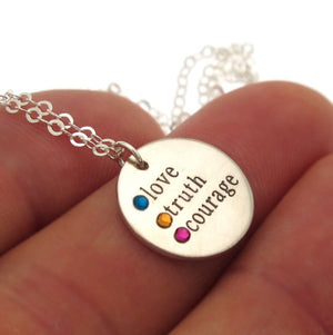 Love Pendant Necklace - Gift for Her