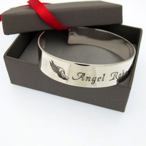 Angel Wing Bracelet for Mom