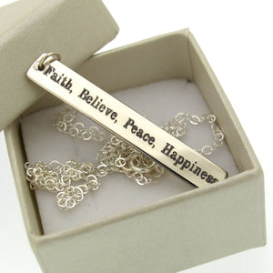 Personalized Kanji Necklace