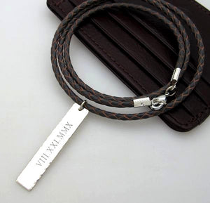 Coordinate Necklace - Gifts for boyfriend