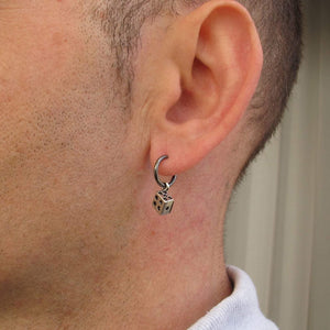 Dice Dangle Earring for Men
