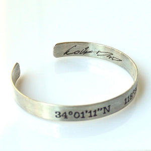 Signature Personalized Bracelet for Men