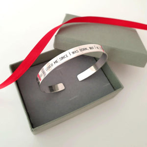 Engraved Bracelet - Personalized Gift for Dad