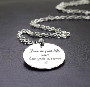 Custom Initials Necklace - Bridesmaids Gift