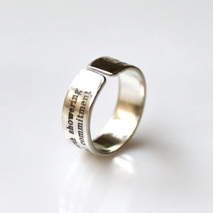 Commemorative Ring - Promise Gift