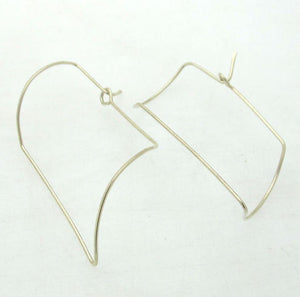 3D Modern Twist Earrings
