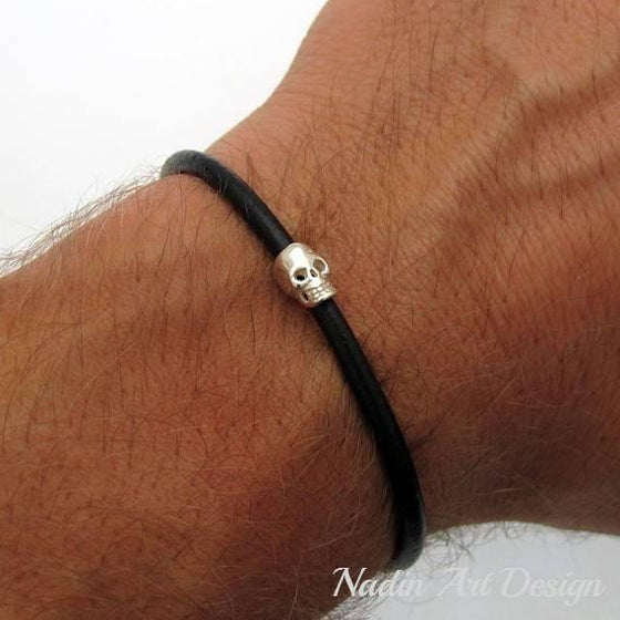 Skull Bracelet - Silicon bracelet for Men