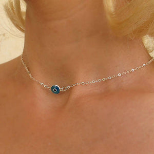 Evil Eye Pendant Protection Necklace