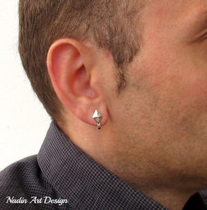 Guys Stud Earring - Mens Jewelry