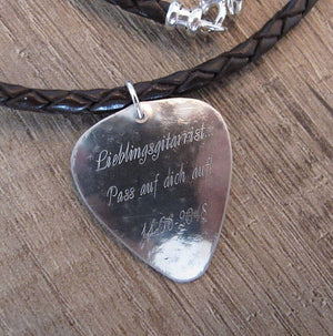 Men's Necklace, Birthday Gift For Musician