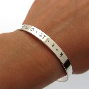 Sisters in Christ bracelet. Inspirational gifts