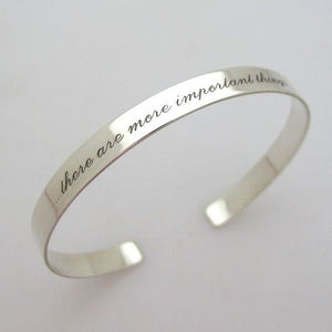 Inspirational bracelet - Hidden Quote Bracelet