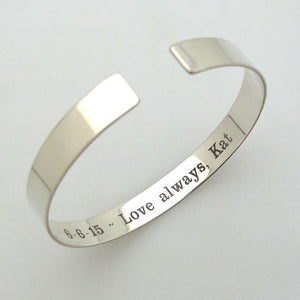 Silver Bracelet for Men - Boyfriend Gift