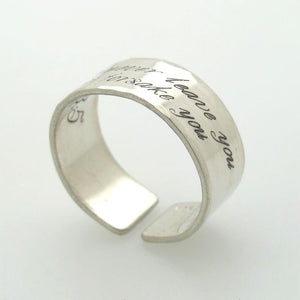 Message Ring for Men