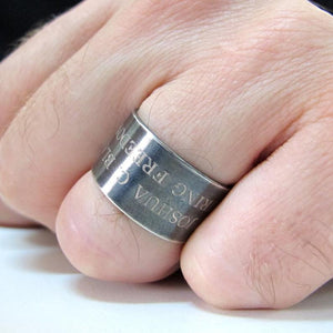 Marine Corps Ring, Personalized USMC Ring