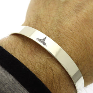 Emergency Contact Bracelet - Medical Alert Cuff