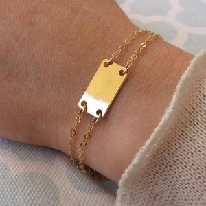 Personalized Gold Filled Name Bracelet
