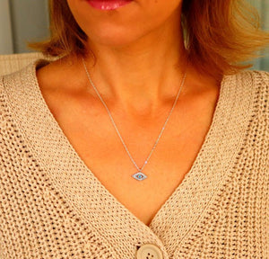 Evil Eye Necklace - Protection Gift