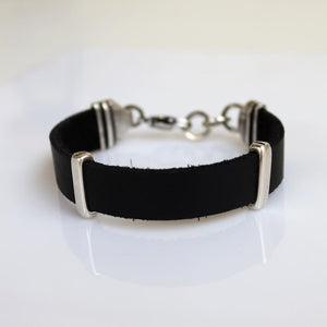 Leather wristband for Men