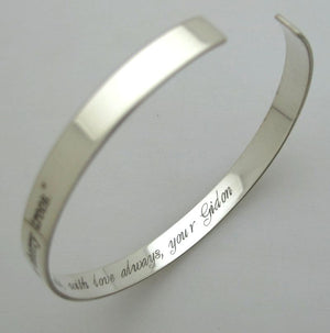 GPS Coordinates Personalized Bracelet for Men